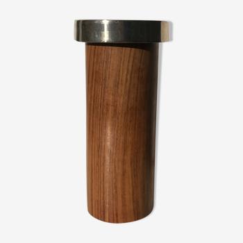 Vase scandinave en bois