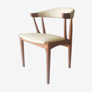 Fauteuil de bureau danois Samcom design Johannes Andersen
