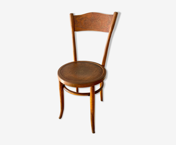 Chaise de bistrot ancienne