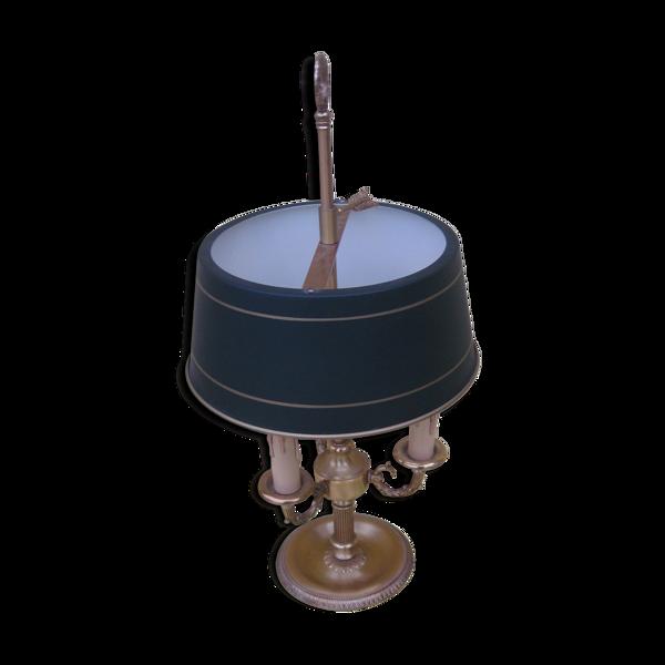 Lampe de bureau type bouillotte de style empire