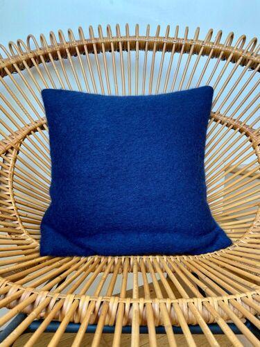 Coussin en lin et laine bouillie 40 cm