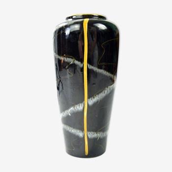 Vase en céramique Pp-art, Scheurich Keramik, Allemagne, années 1970