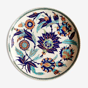 Assiette murale décorative multicolore Turquie