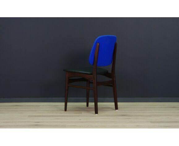 Chaises rétro en acajou vintage design danois