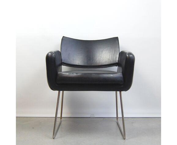 Fauteuil modèle 763 de Joseph André Motte pour Steiner 1950