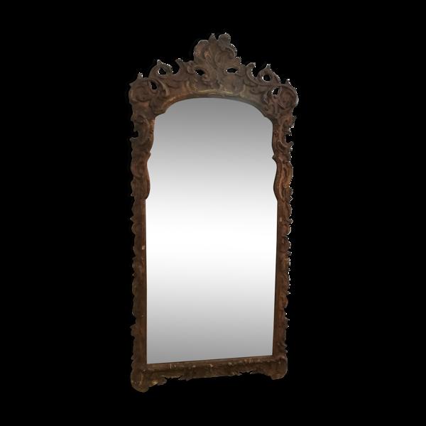 Miroir XIXème siècle style Louis XV - 140x61cm