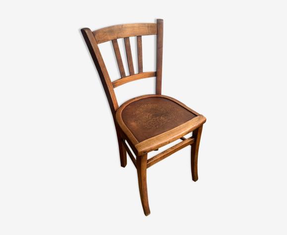 Chaise bois vintage