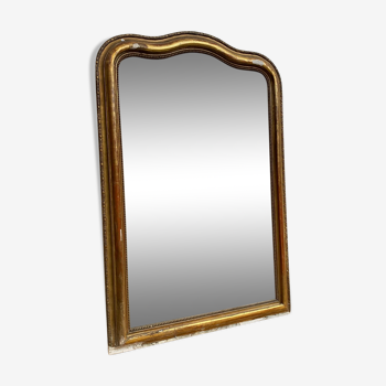 Miroir doré début XXème 110x150cm