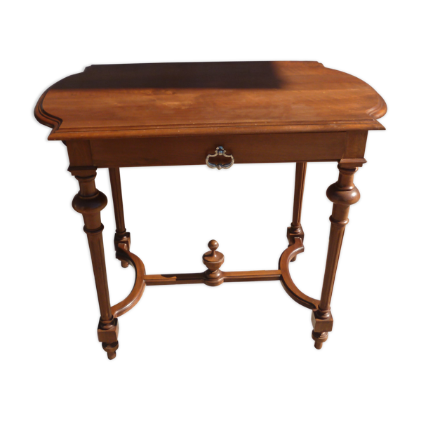 Table d'appoint avec tiroir style Napoléon lll