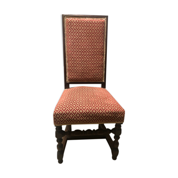 Chaise de style Louis XIII
