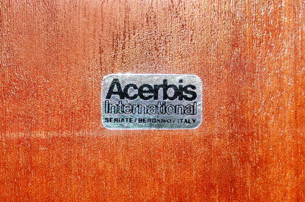Enfilade de Giotto Stoppino et Lodovico Acerbis pour Acerbis Italia Year 1977