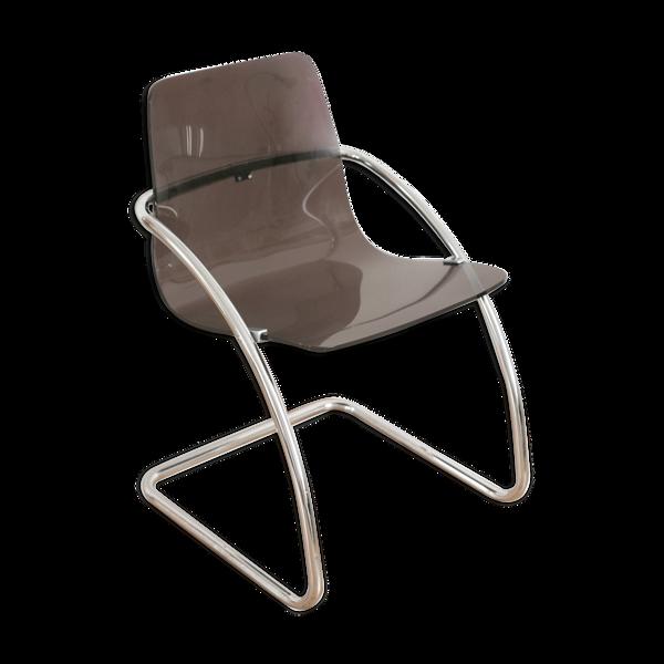 Selency Chaise de Yves Christin, plexiglas, édition Airborne, 1970
