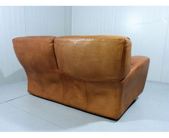 Italian two-seats sofa Fatboy by Molinari, 1980's