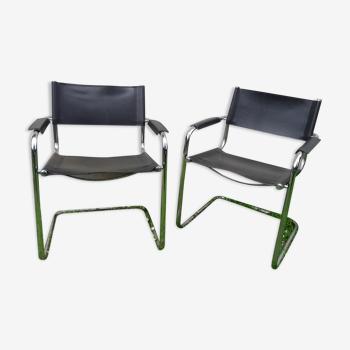 Paire de fauteuils design Mattéo Grassi