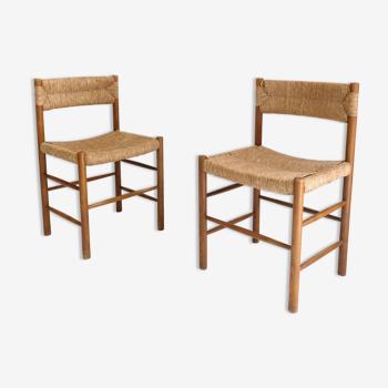 Paire de chaises Dordogne, Sentou, 1950
