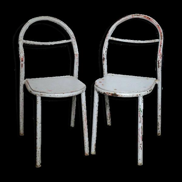 Paire de chaises pour Mobilor années 50