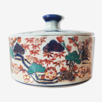 Boîte Ironstone China style Imari
