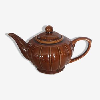 Théière en céramique émaillée vintage