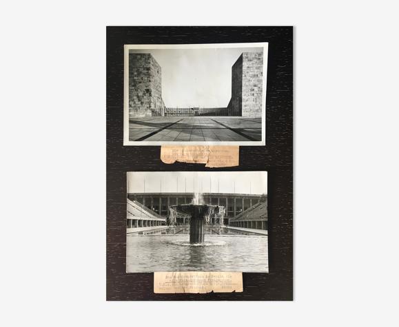Duo de tirages photos, Berlin 1936