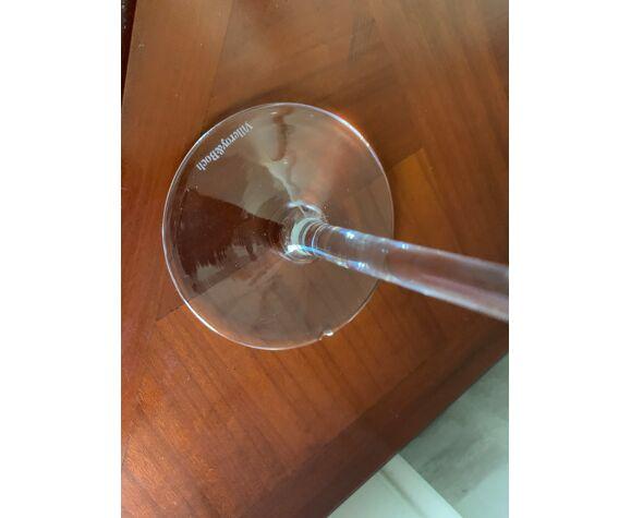 Lot de 4 verres à vin Villeroy et Boch