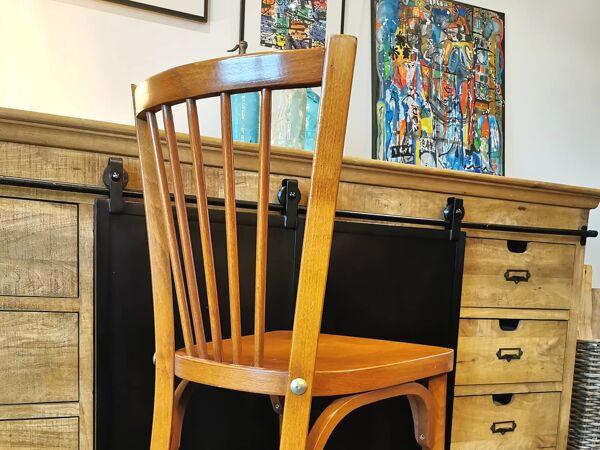 Série de 6 chaises bistrot Baumann