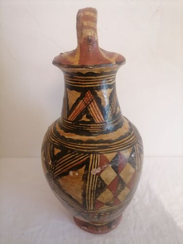 Bouteille, poterie Kabyle