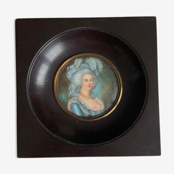 Miniature de Marie Antoinette