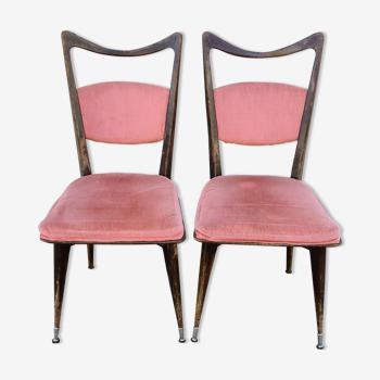 2 chaises vintage