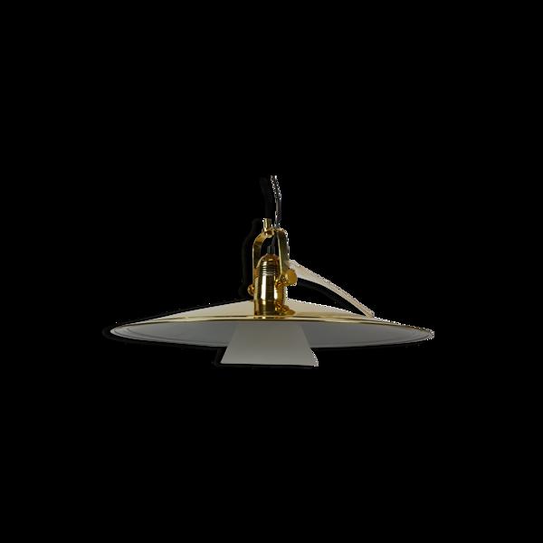Golden hanging lamp