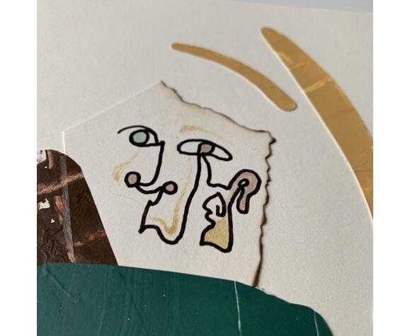 Collage 'Lui' de la série 'Names'