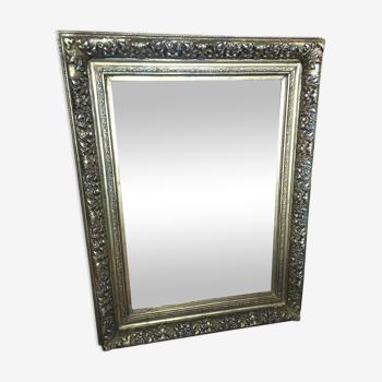 Miroir doré 107x80cm