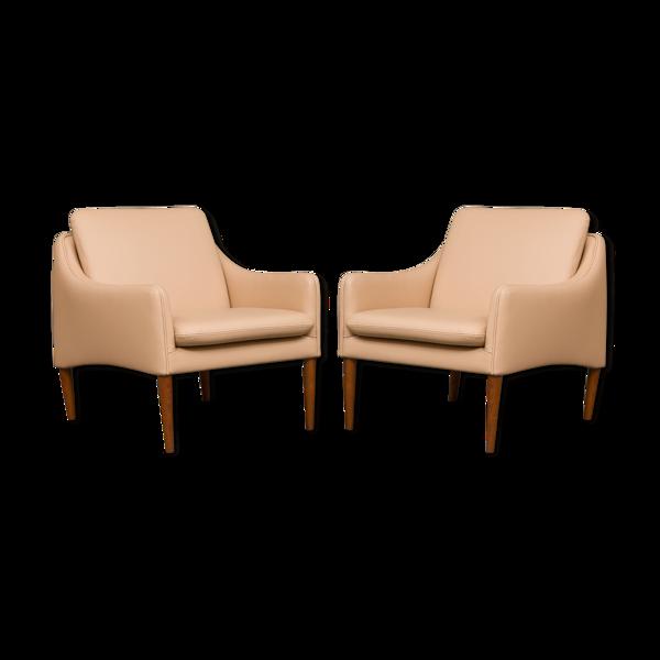 Selency Paire de fauteuils modèle 800 par Hans Olsen