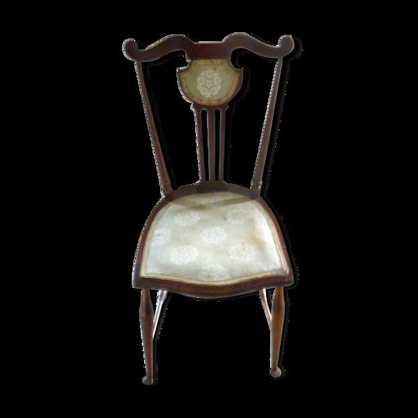 Rare chaise de couturière époque 1900