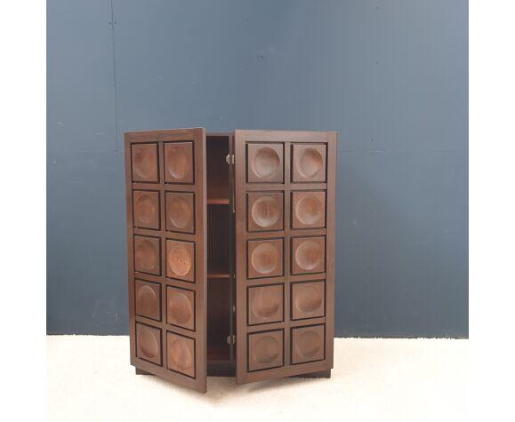 Cabinet brutaliste 1970