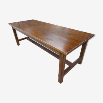 Table de ferme en chêne 223 cm