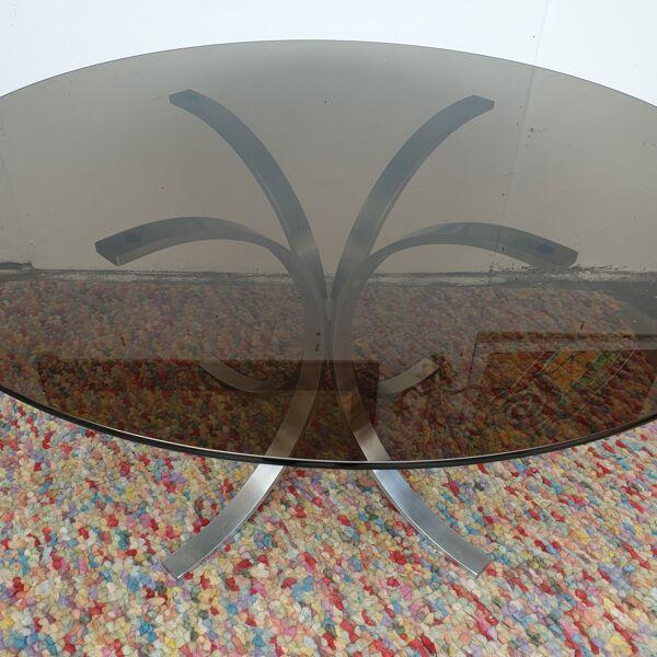 Table a manger roche bobois design 1970