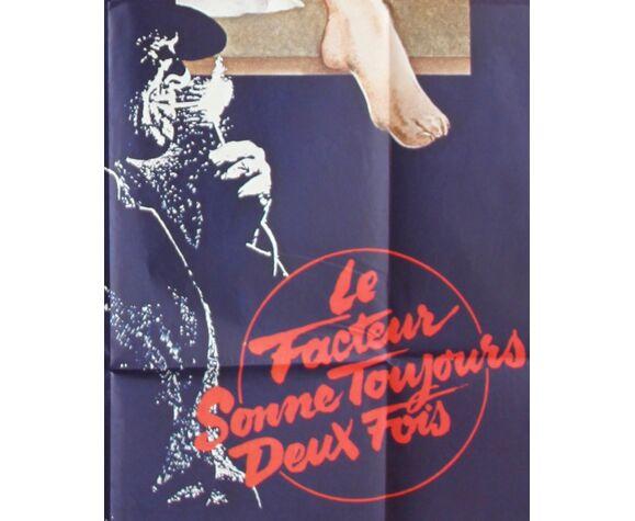 """Affiche du film """"Le Facteur sonne toujours deux fois"""""""