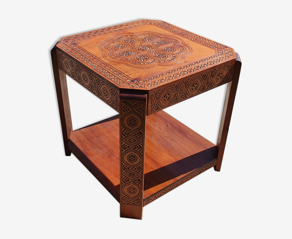 Table guéridon art déco Maroc 1920