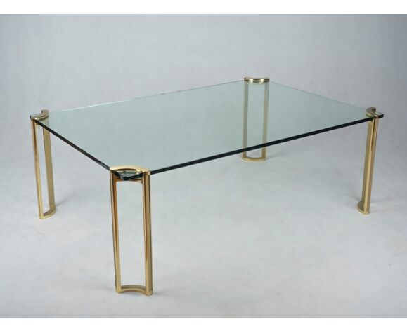 Table basse de P. Ghyczy, années 1960