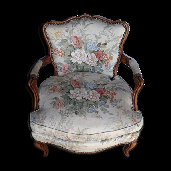 Fauteuil cabriolet st Louis XV debut XXem