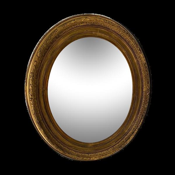 Miroir doré 70x81cm