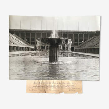 Tirage photo architecture années 30