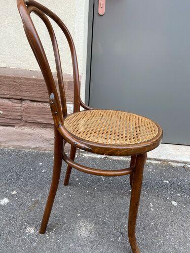 Chaise bois courbé