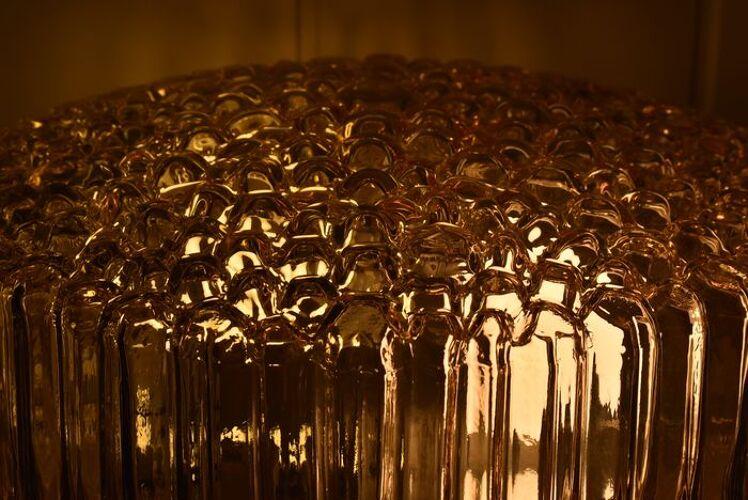 Plafonnier Glasshutte Limburg par Helena Tynell