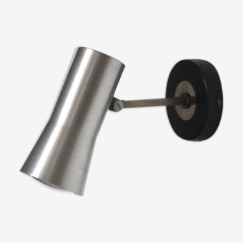 Applique design scandinave en aluminium 1960