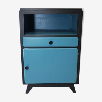 Meuble d'appoint TV table chevet vintage