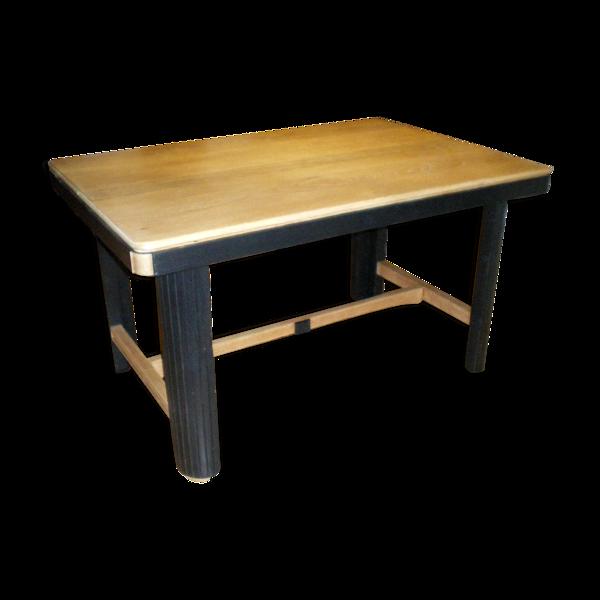 Table en chêne années 40